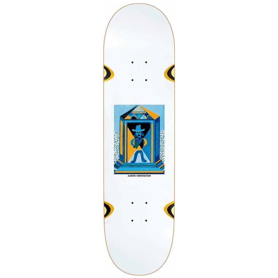 "Polar Skate Co. Aaron Herrington Mausoleum Wheel Wells Skateboard Deck - 8.125"" | Deck by Polar Skate Co 1"