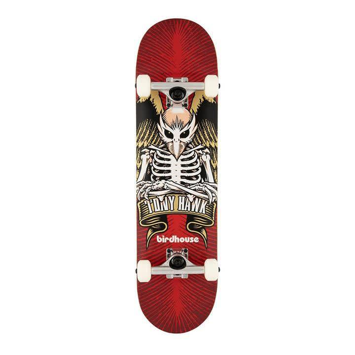 Birdhouse Tony Hawk Icon Complete Red 8.0 | Complete Skateboard by Birdhouse 1