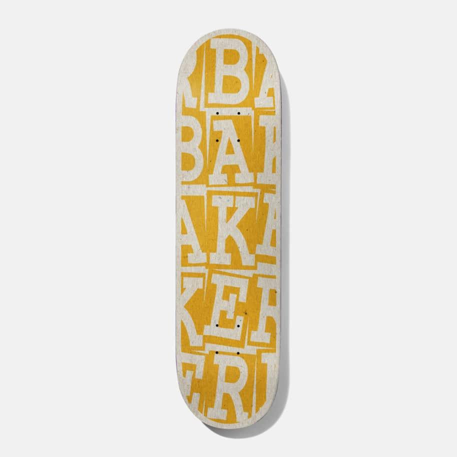 Baker Skateboards Riley Hawk Ribbon Stack Skateboard Deck - 8.25 B2 Shape (Steep)   Deck by Baker Skateboards 1