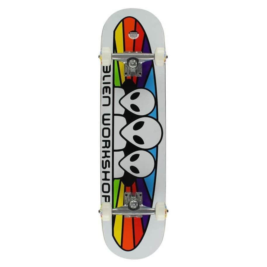 """Alien Workshop complete Skateboard - 8""""   Complete Skateboard by Alien Workshop 1"""
