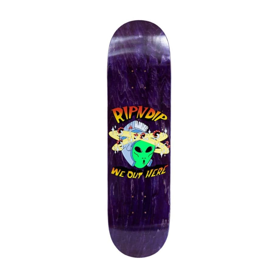 """Rip N Dip Out Of This World Skateboard Deck - 8.25""""   Deck by Ripndip 1"""