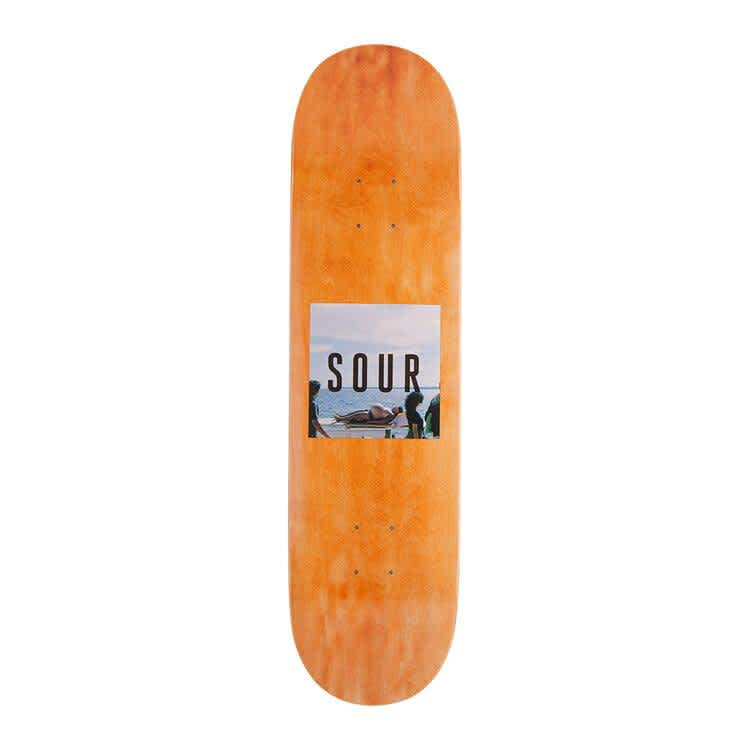 """Sour Solution Belly Deck 8.125""""   Deck by Sour Skateboards 1"""