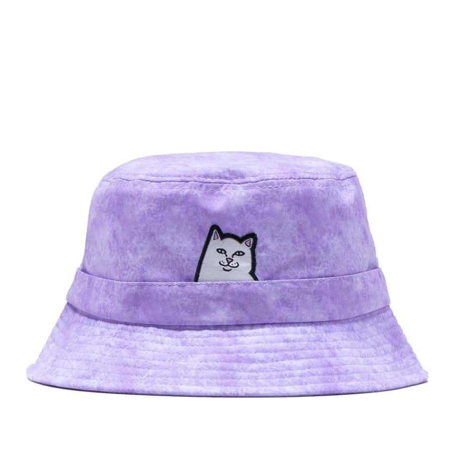 Ripndip Lord Nermal Bucket Hat - Lavender Mineral Wash | Bucket Hat by Ripndip 1