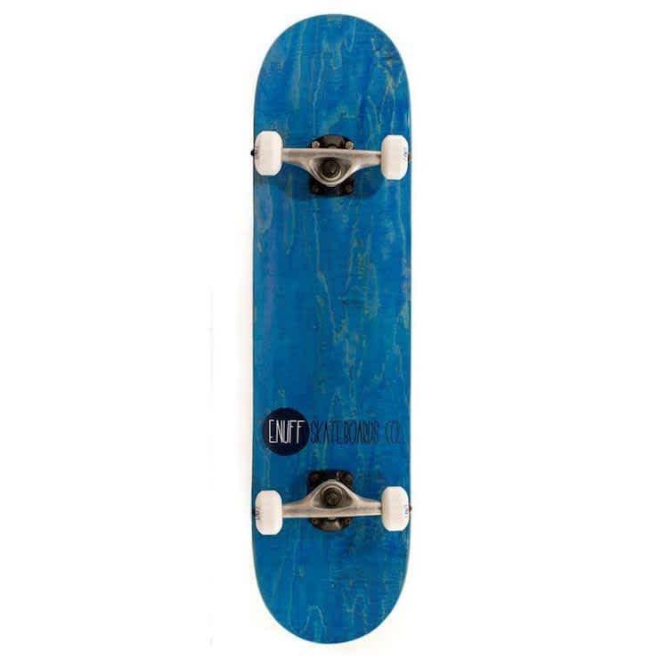 "Enuff Skateboards Logo Stain Complete Skateboard Blue 8"" | Complete Skateboard by Enuff 1"