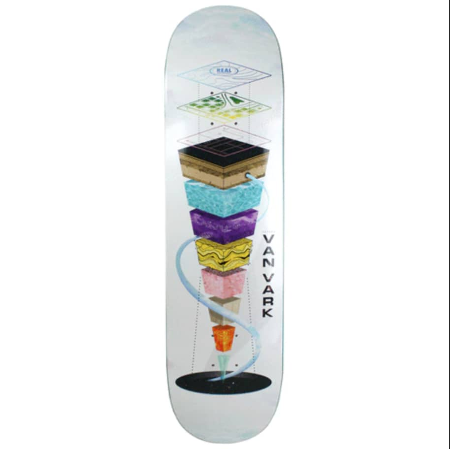 """Real - Tanner Topography Deck (8.25"""") 
