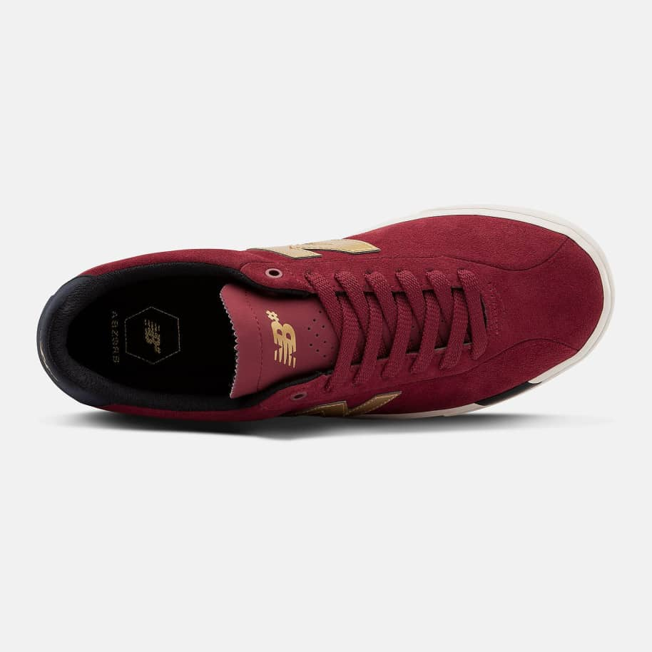 New Balance Numeric NM22 Shoes - Red / Gold | Shoes by New Balance 2