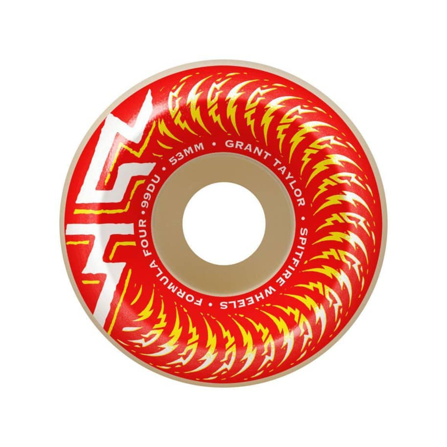 Spitfire Formula 4 Grant Taylor Pro Classic 53mm | Wheels by Spitfire Wheels 1