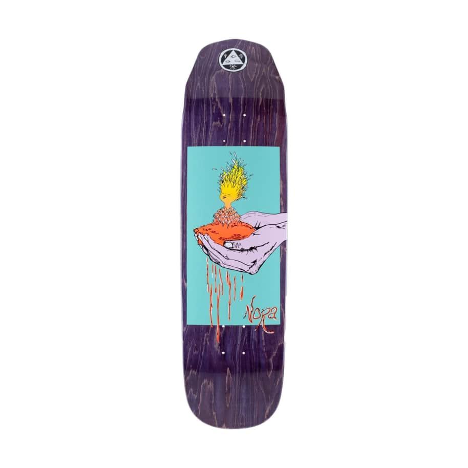 Welcome Soil on Wicked Queen 8.6 | Deck by Welcome Skateboards 1