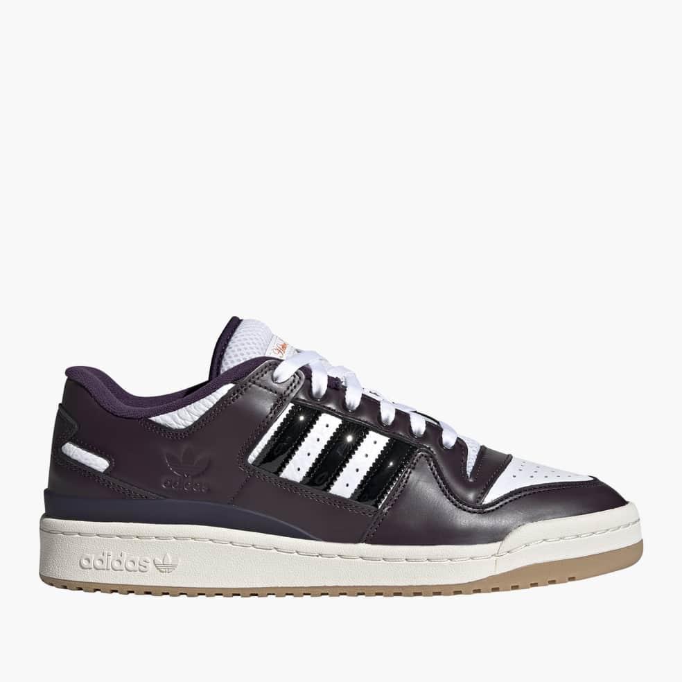 adidas Skateboarding Heitor Forum 84 Low ADV Shoes - Core Black / Light Purple / Ftwr White | Shoes by adidas Skateboarding 1