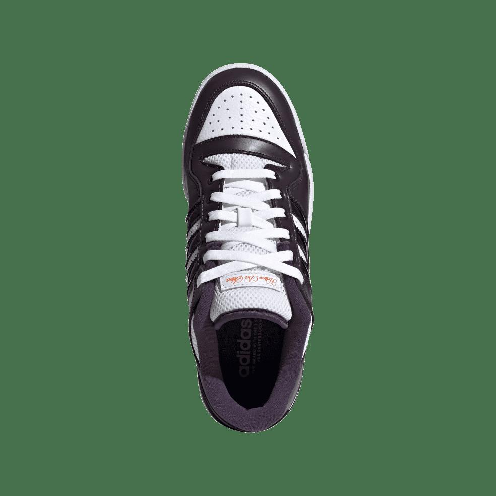 adidas Skateboarding Heitor Forum 84 Low ADV Shoes - Core Black / Light Purple / Ftwr White | Shoes by adidas Skateboarding 3