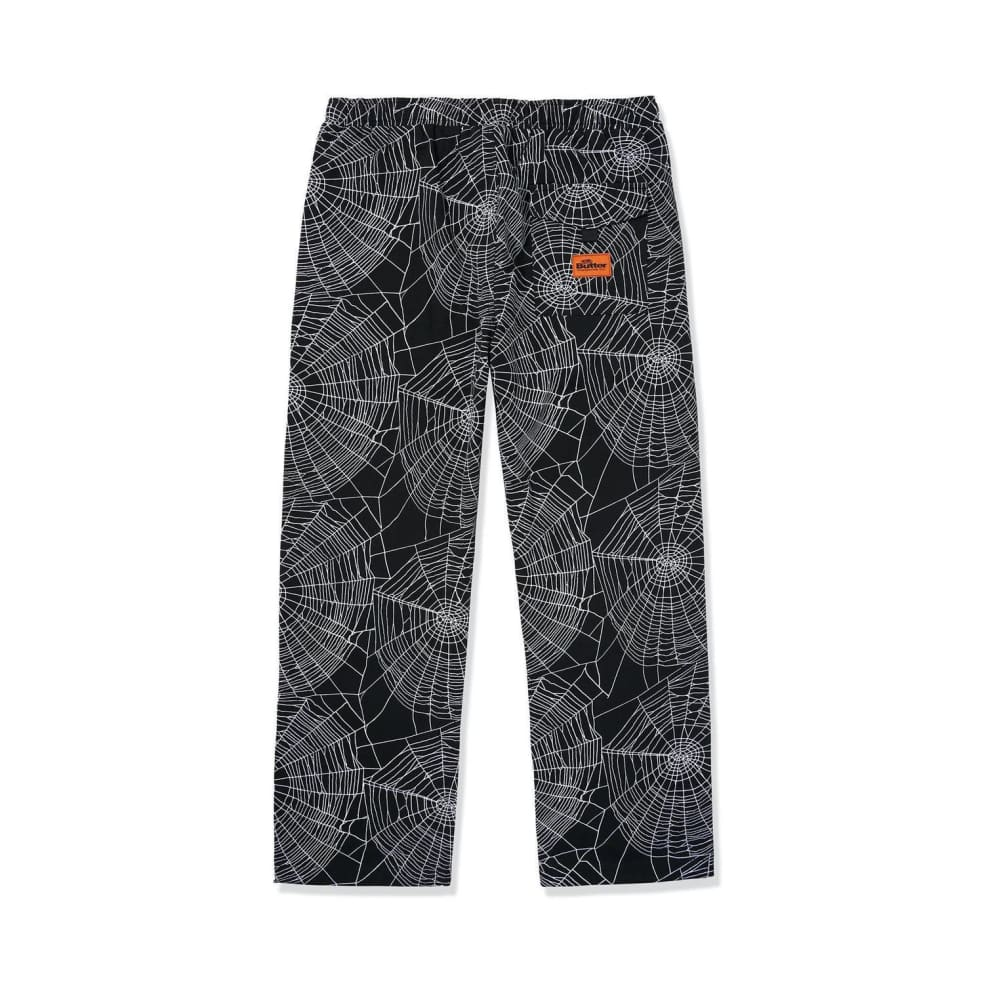 Butter Goods Web Pants - Black | Trousers by Butter Goods 2