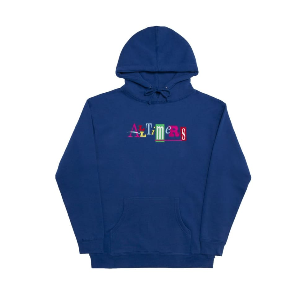 Alltimers Sin Good Embroidered Hoodie - Royal Blue | Hoodie by Alltimers 1