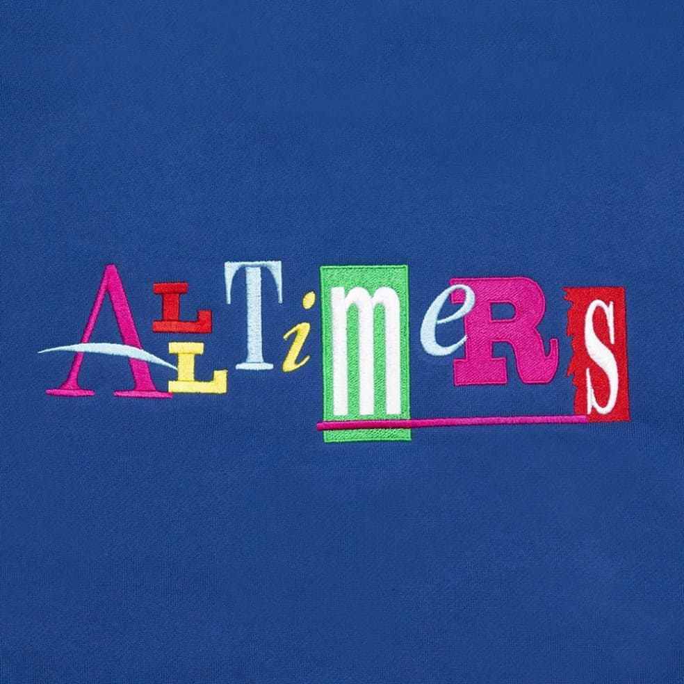 Alltimers Sin Good Embroidered Hoodie - Royal Blue | Hoodie by Alltimers 2