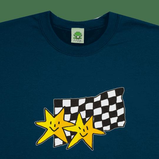 Frog Skateboards Premium Stars Crewneck - Deep Teal   Sweatshirt by Frog Skateboards 2