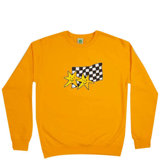 Frog Skateboards Premium Stars Crewneck - Gold | Sweatshirt by Frog Skateboards 1