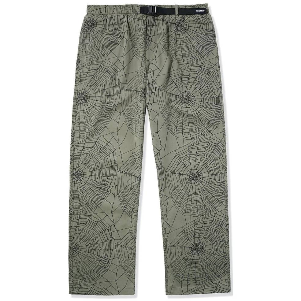 Butter Goods Web Pants - Army | Trousers by Butter Goods 1