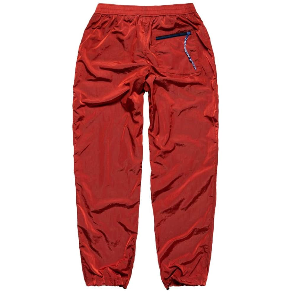 Aries Windcheater Pant - Red | Trousers by Aries 2