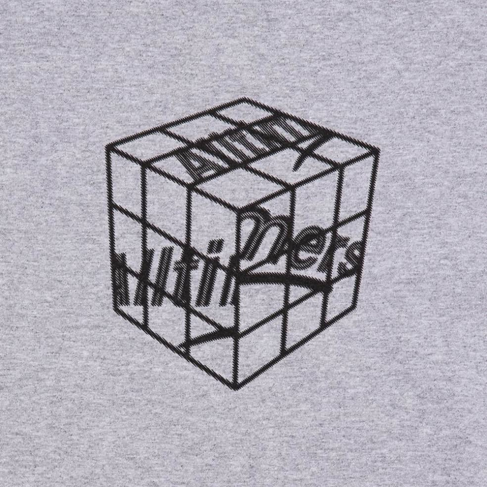 Alltimers Cubed T-Shirt - Heather Grey | T-Shirt by Alltimers 2