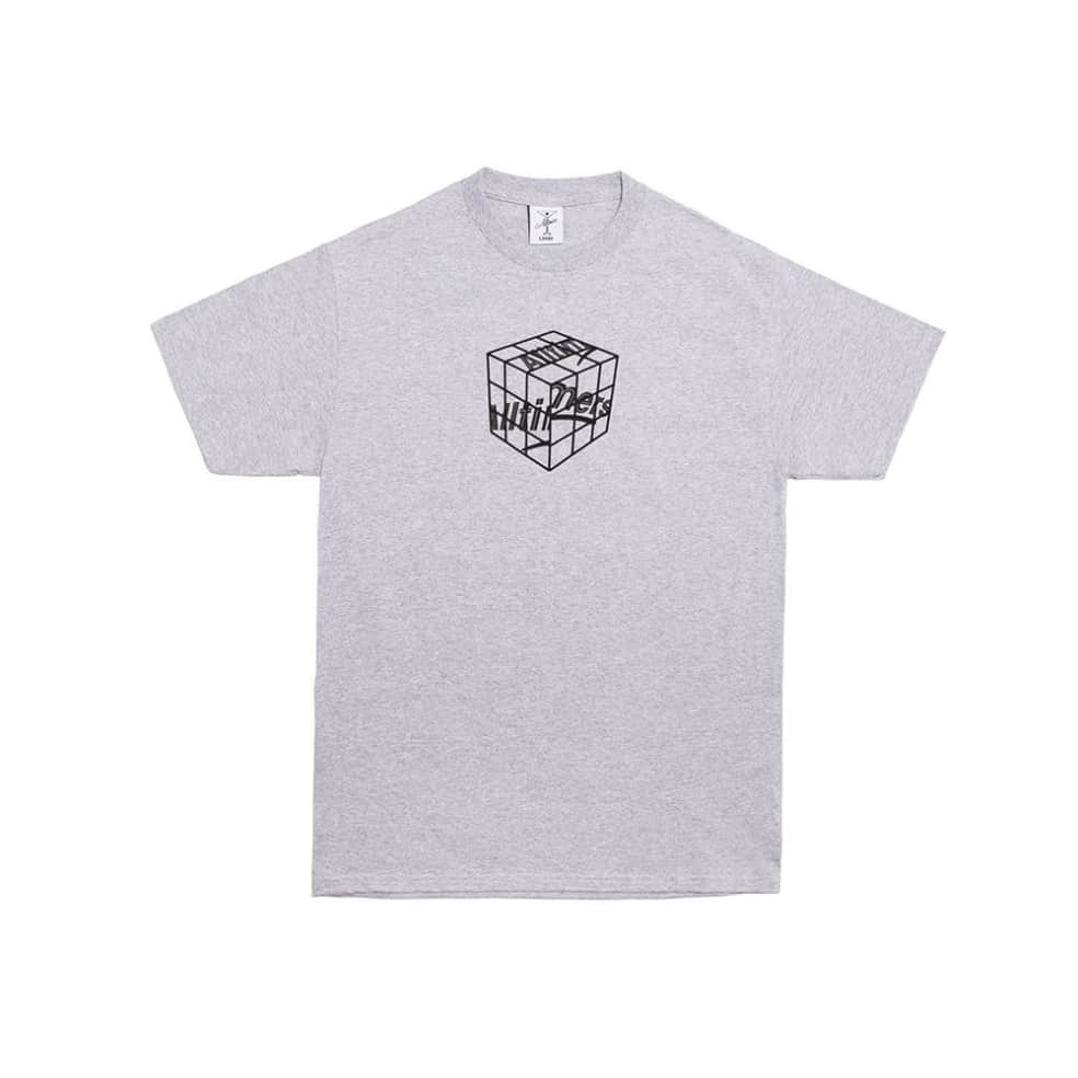 Alltimers Cubed T-Shirt - Heather Grey | T-Shirt by Alltimers 1