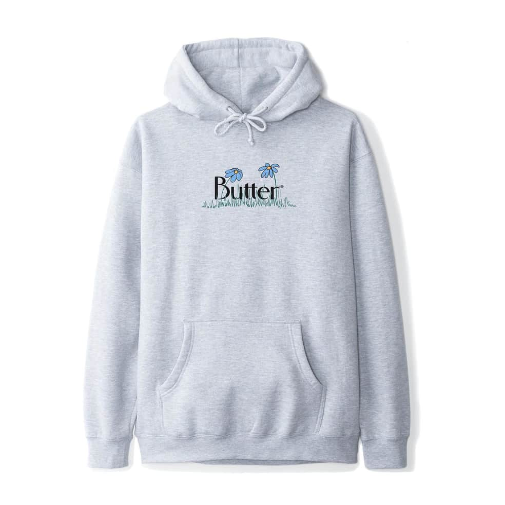 Butter Goods Flowers Hoodie - Heather Grey | Hoodie by Butter Goods 1
