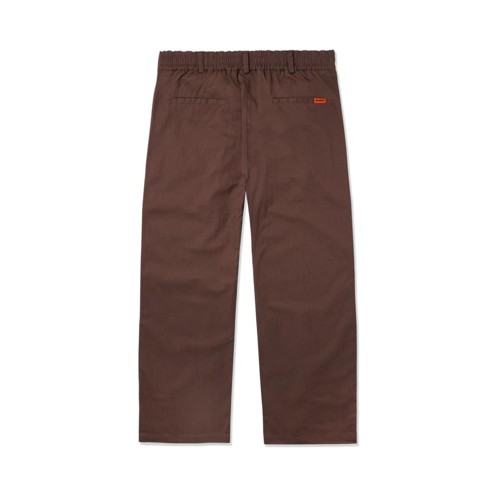 Butter Goods Herringbone Pants - Brown   Trousers by Butter Goods 2