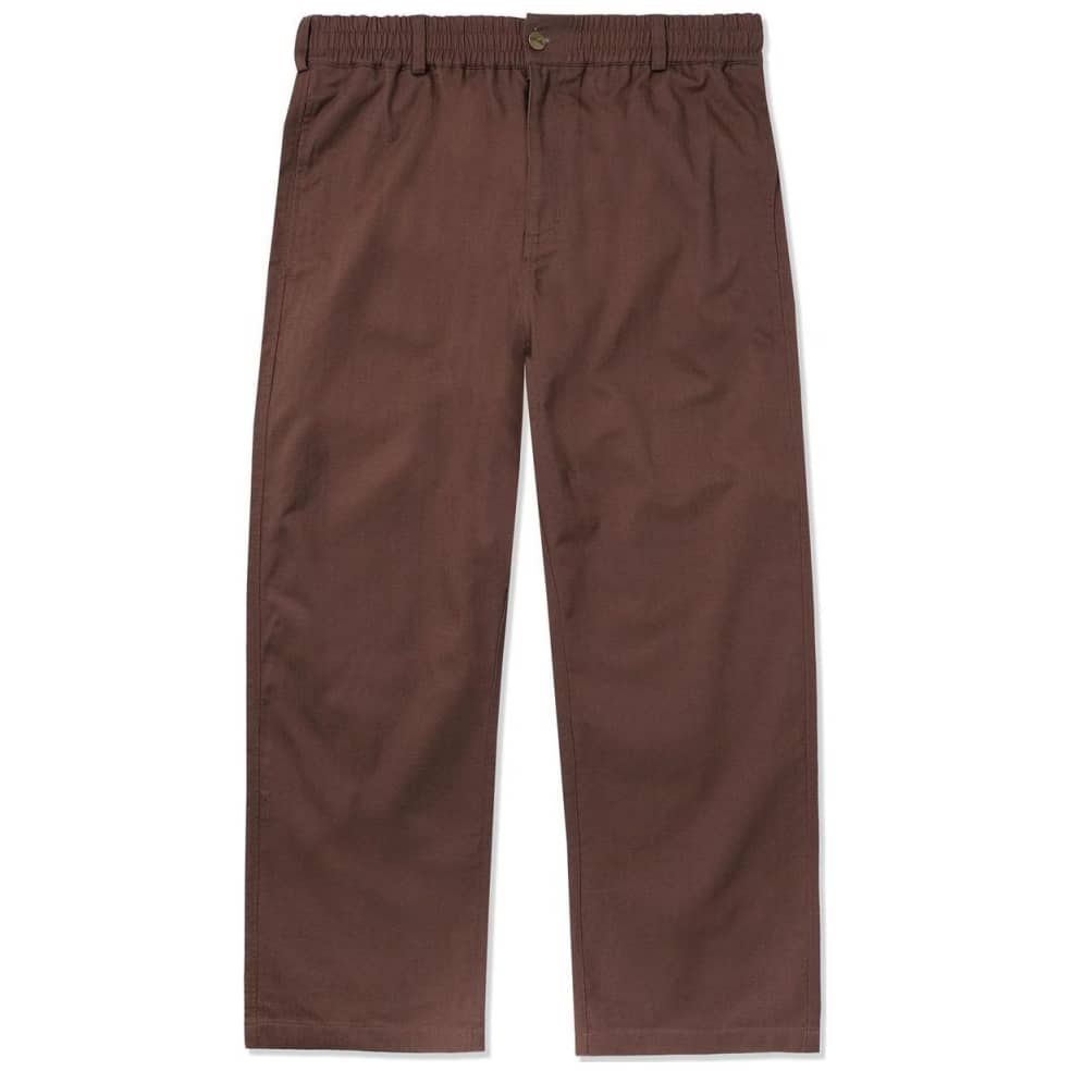 Butter Goods Herringbone Pants - Brown   Trousers by Butter Goods 1