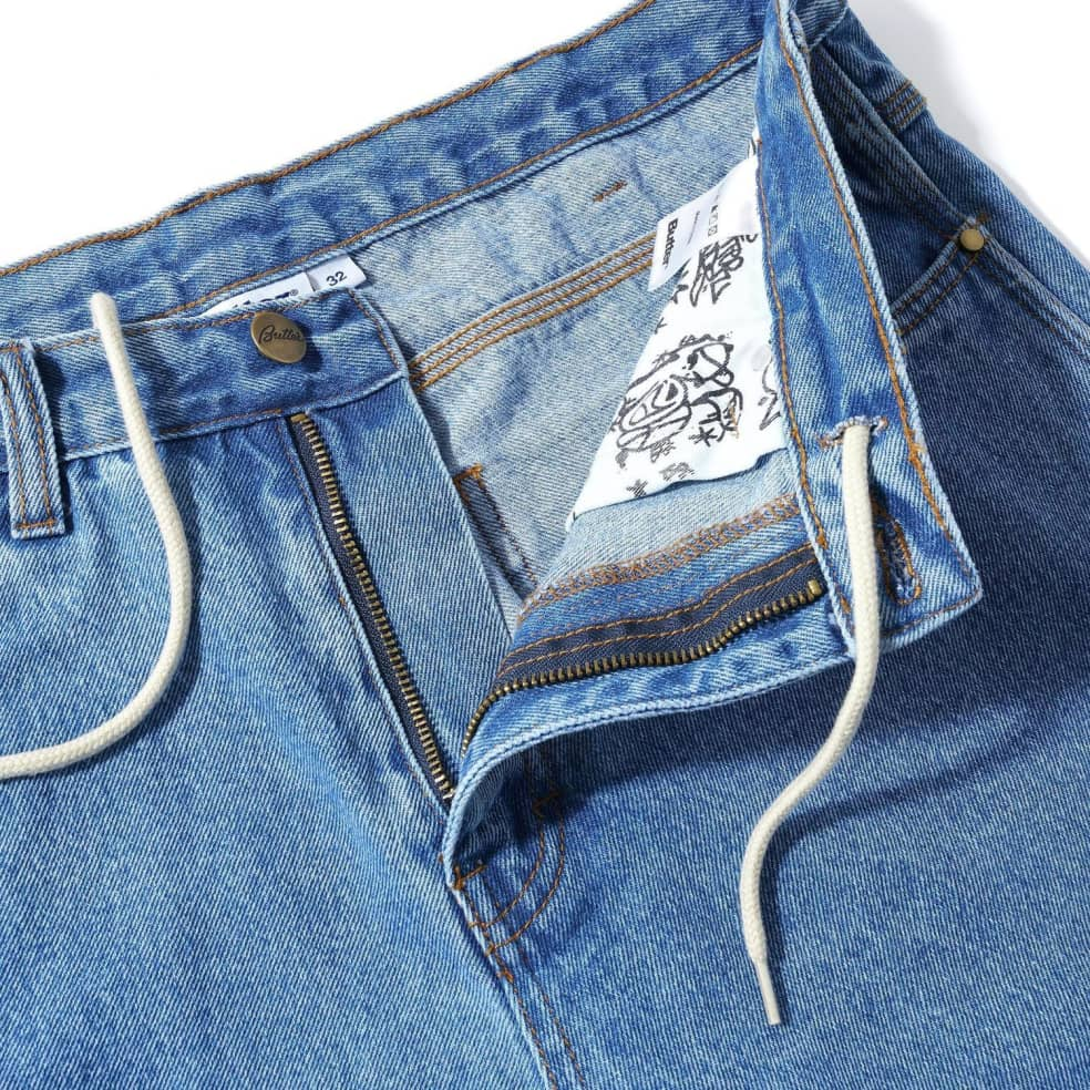 Butter Goods Santosuosso Denim Pants - Washed Indigo | Jeans by Butter Goods 2