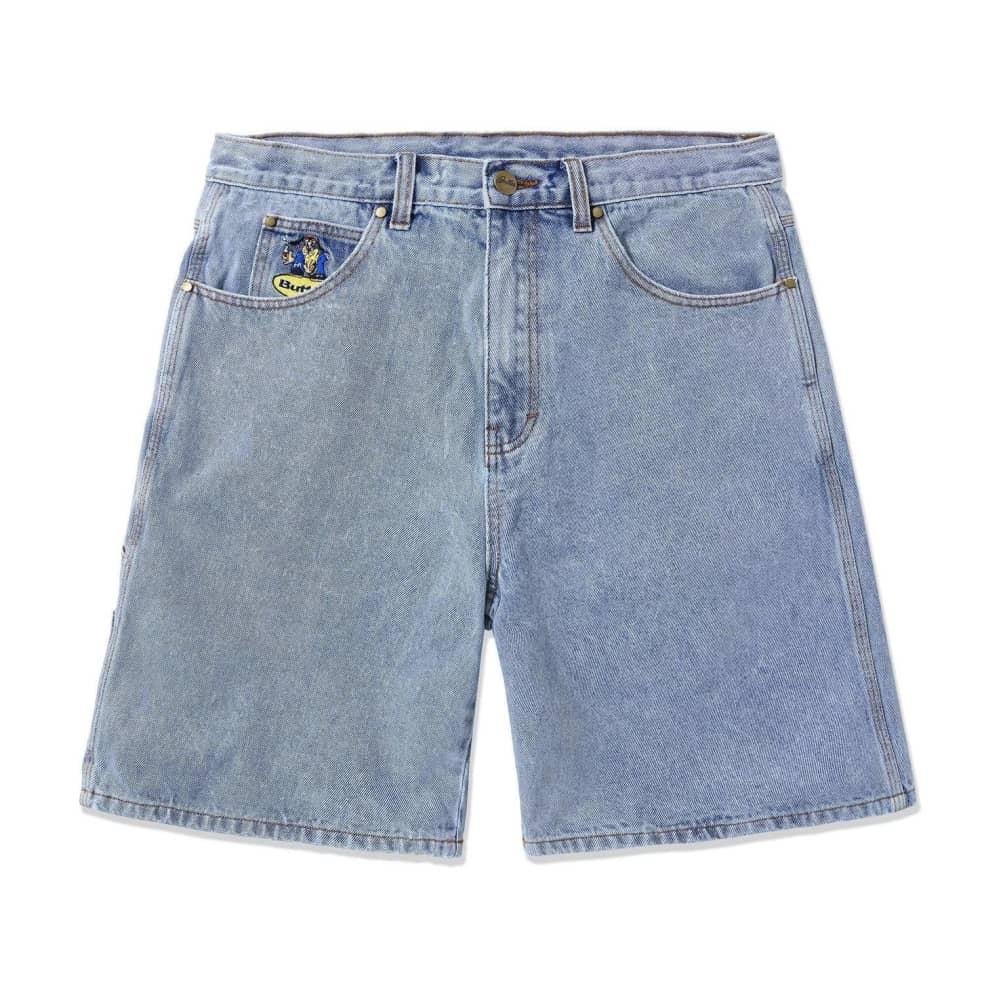 Butter Goods Homeboy Denim Shorts - Washed Light Blue   Shorts by Butter Goods 1