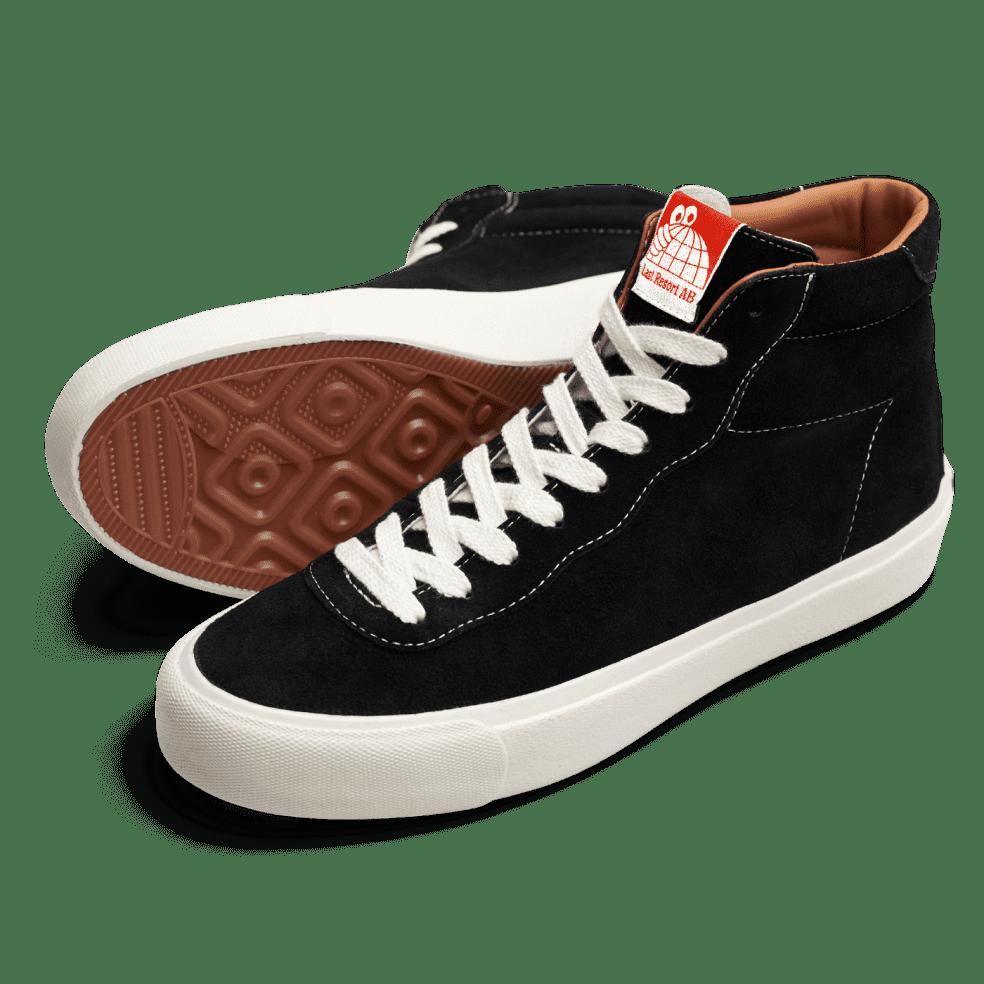 Last Resort AB VM001 Suede Hi Skate Shoes - Black / White | Shoes by Last Resort AB 2