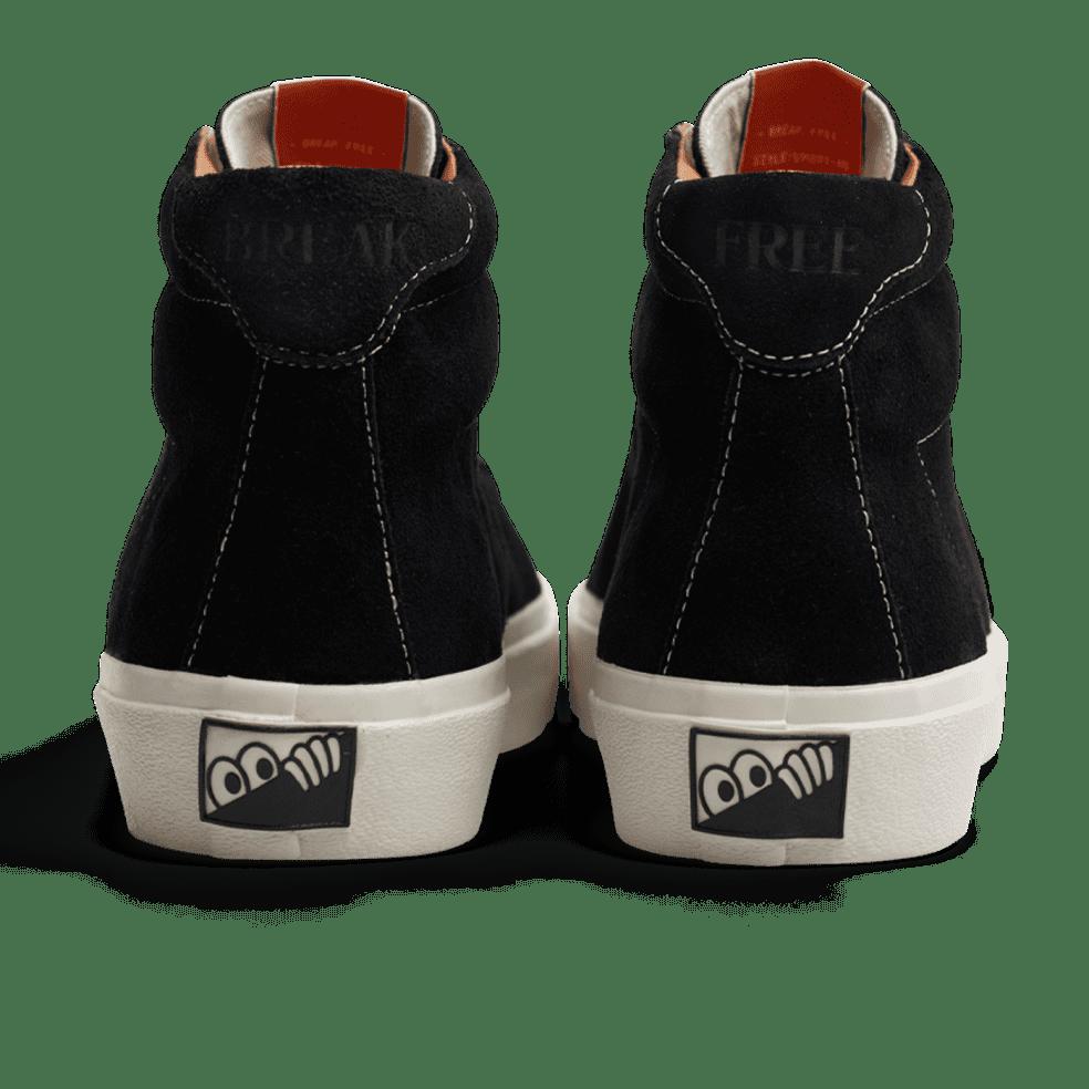 Last Resort AB VM001 Suede Hi Skate Shoes - Black / White | Shoes by Last Resort AB 3