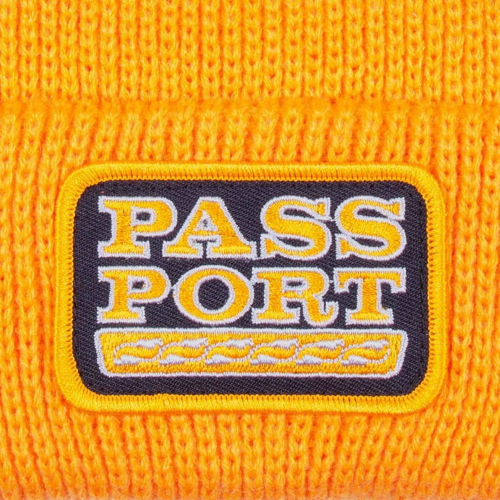 Pass~Port Auto Patch Beanie - Gold | Beanie by Pass~Port Skateboards 2