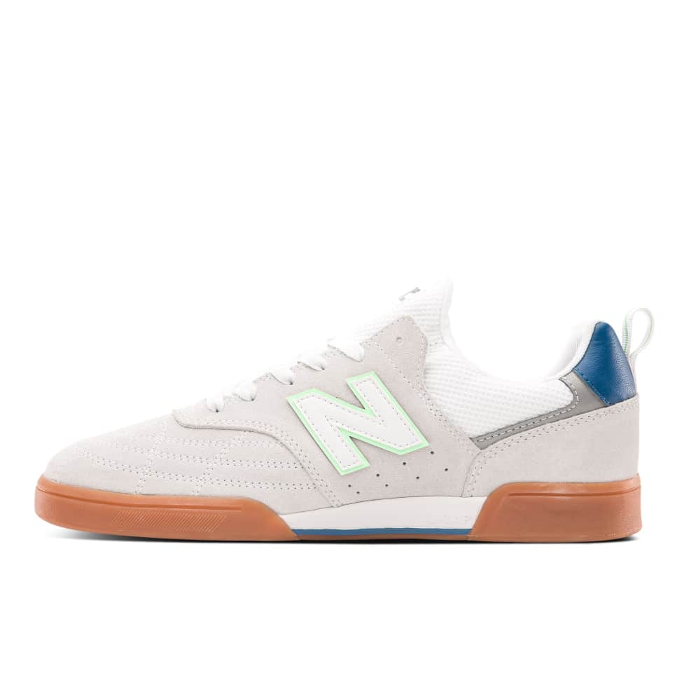 New Balance Numeric 288S Shoes - White / Teal   Shoes by New Balance Numeric 3