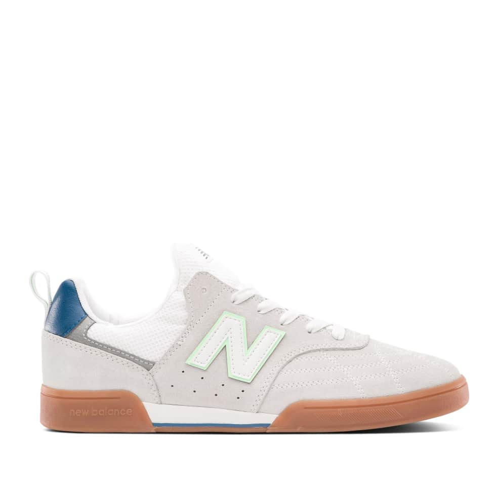 New Balance Numeric 288S Shoes - White / Teal   Shoes by New Balance Numeric 1