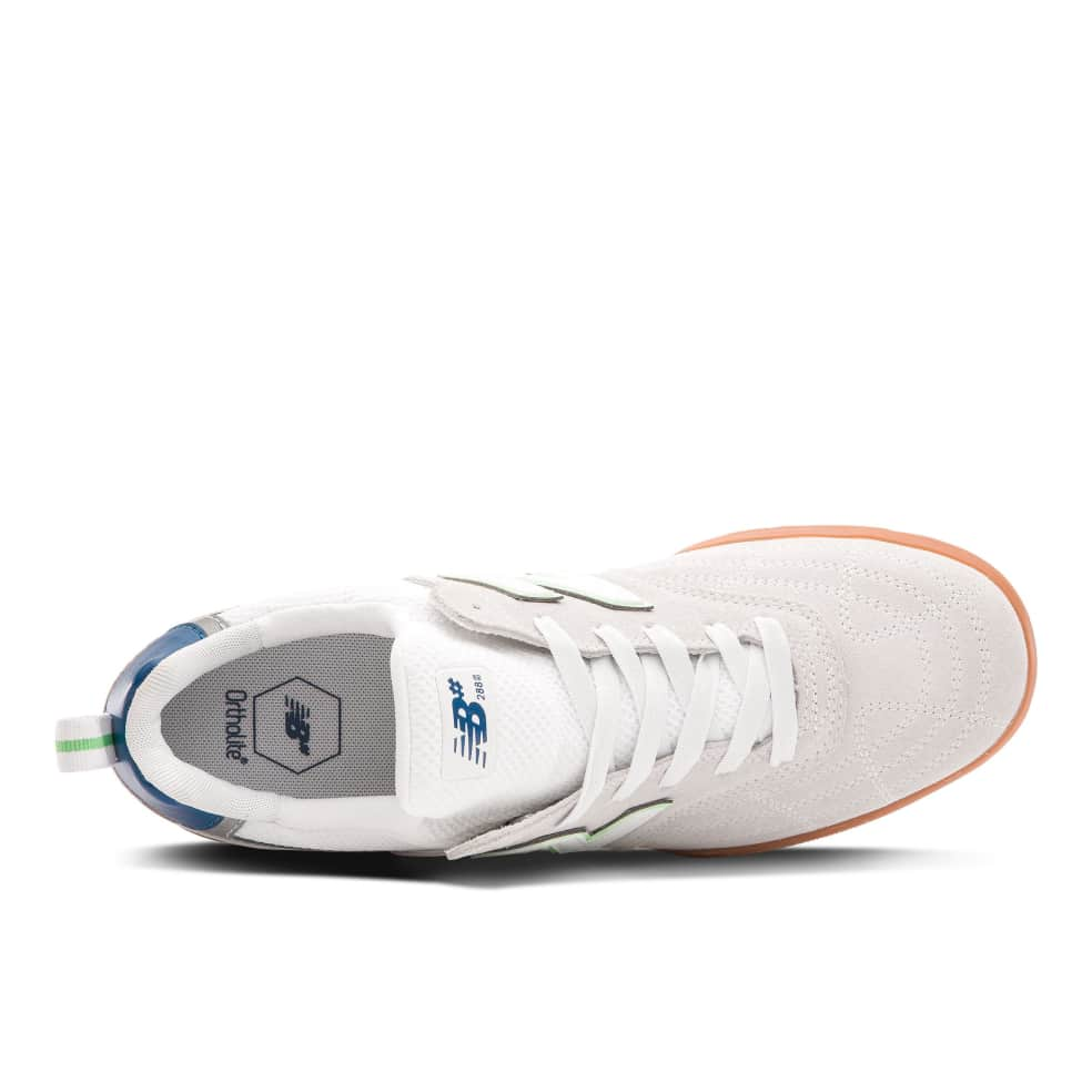 New Balance Numeric 288S Shoes - White / Teal   Shoes by New Balance Numeric 2