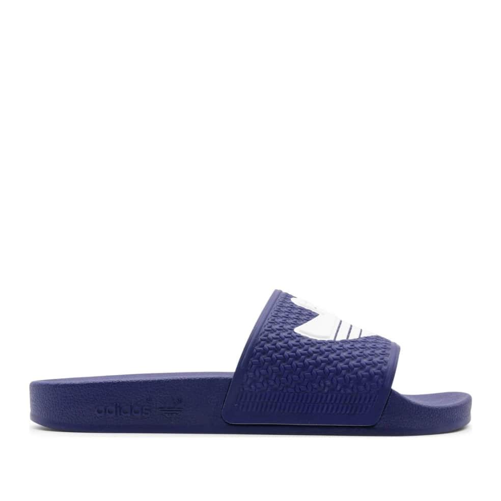 adidas Skateboarding Shmoofoil Slides - Victory Blue / Cloud White / Victory Blue | Shoes by adidas Skateboarding 1