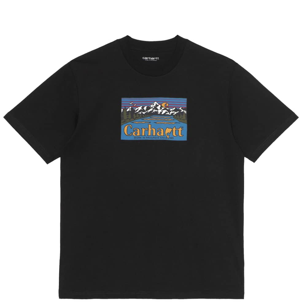 Carhartt WIP Great Outdoors T-Shirt - Black | T-Shirt by Carhartt WIP 1