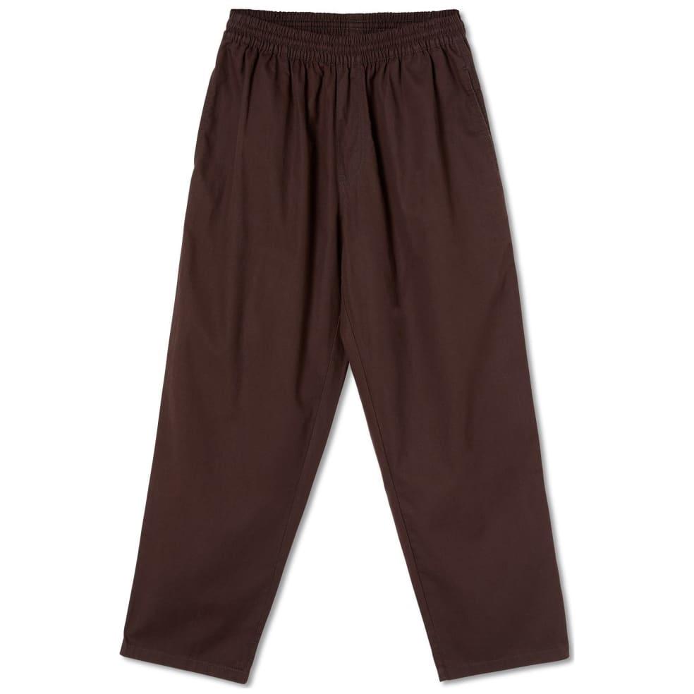 Polar Skate Co Surf Pants - Brown | Trousers by Polar Skate Co 1