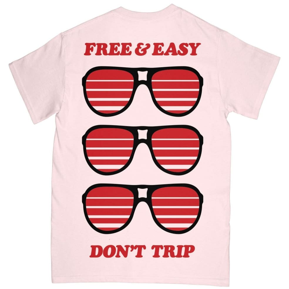 Free & Easy Sunglasses T-Shirt - Pale Pink | T-Shirt by Free & Easy 1