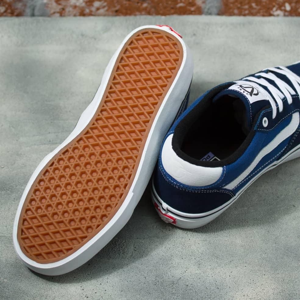 Vans Rowan Shoes - Navy / White | Shoes by Vans 3