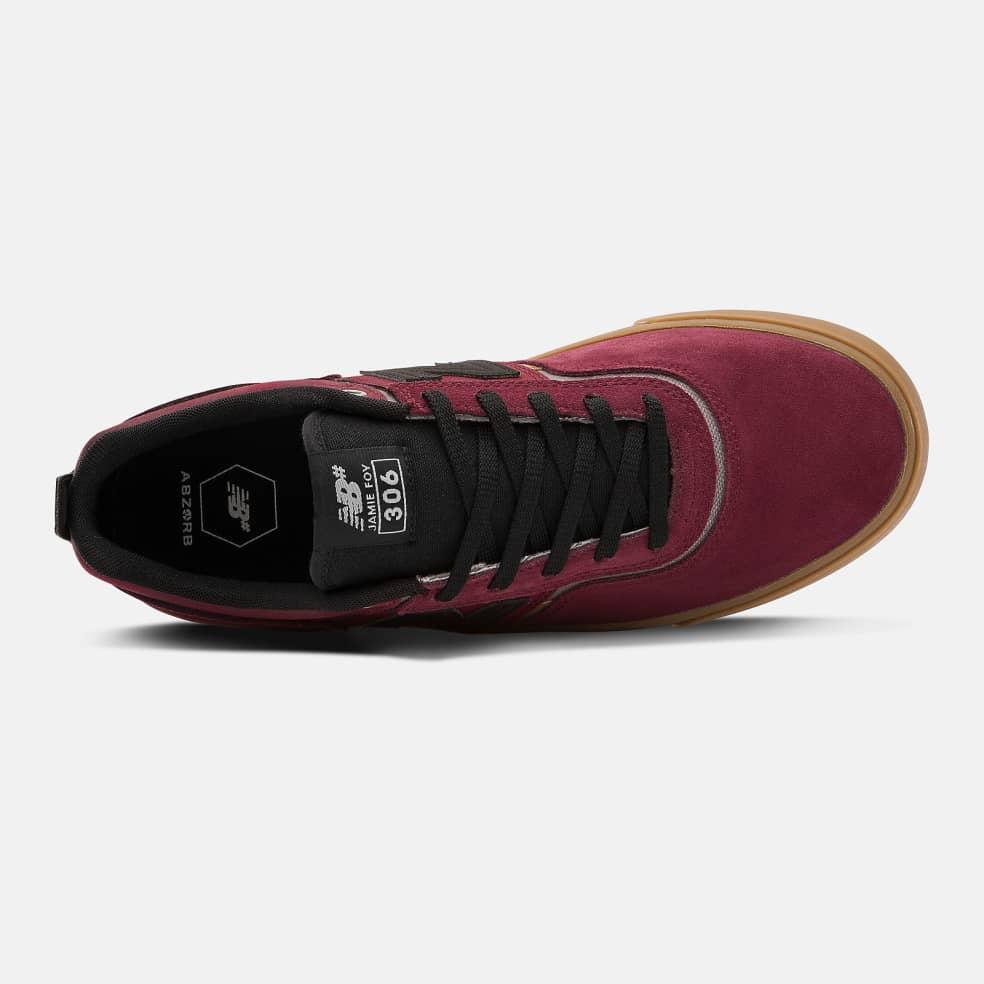 New Balance Numeric NM306 Shoes - Burgundy / Black | Shoes by New Balance Numeric 2