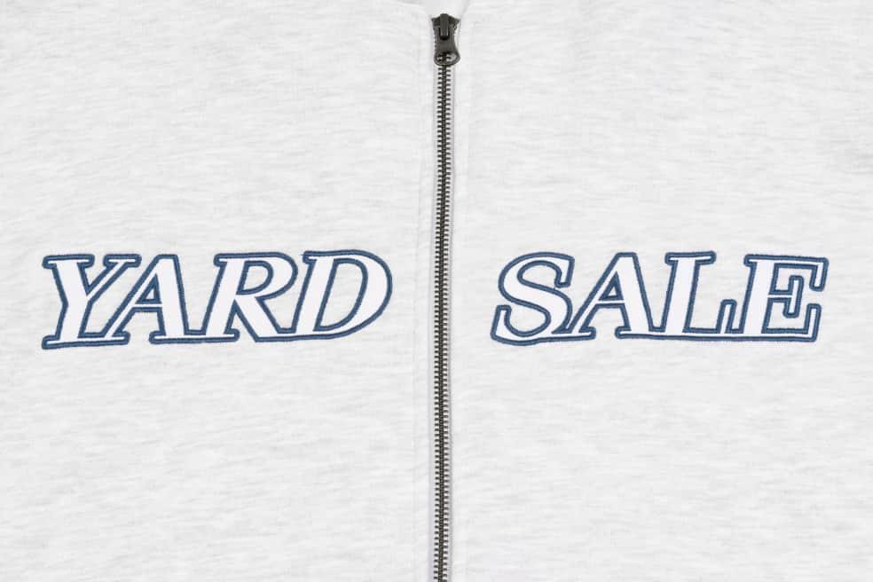Yardsale Pesci Hoodie - Grey / Washed Navy   Hoodie by Yardsale 2