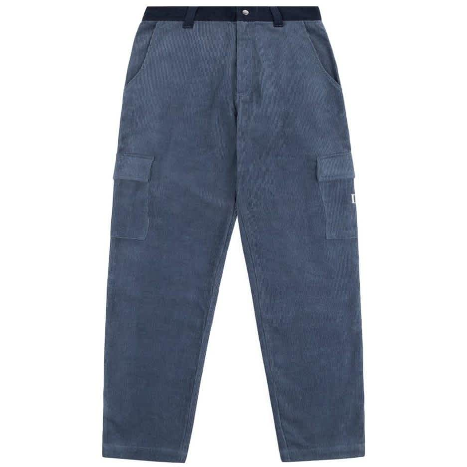 Dime Corduroy Cargo Pants - Navy | Trousers by Dime 1