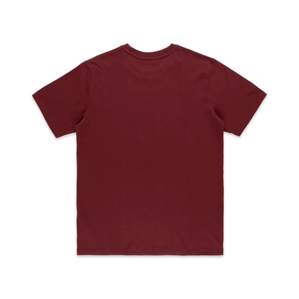 Poetic Collective Painting T-Shirt - Burgundy   T-Shirt by Poetic Collective 2