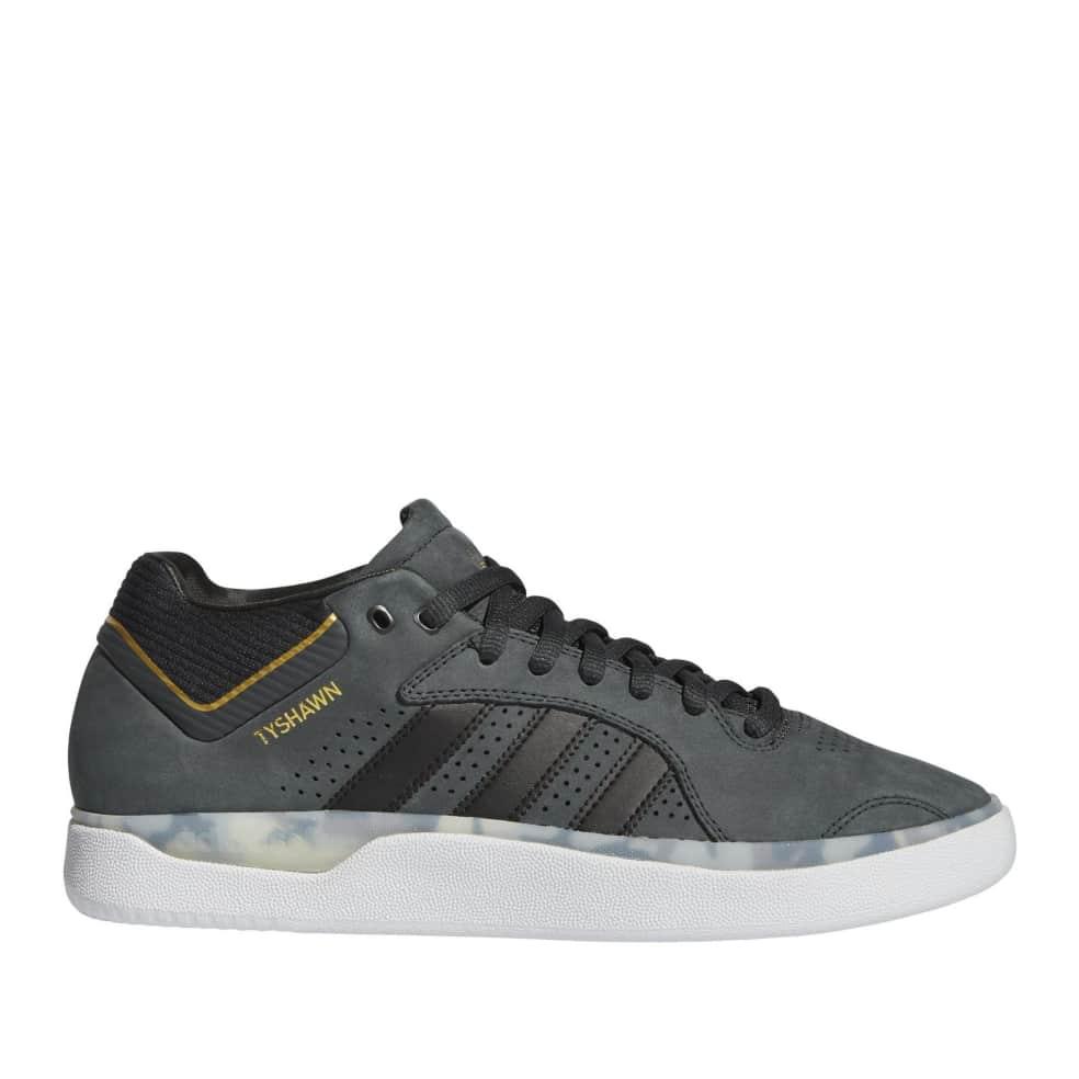 adidas Skateboarding Tyshawn Shoe - Carbon / Core Black / Gold Met | Shoes by adidas Skateboarding 1