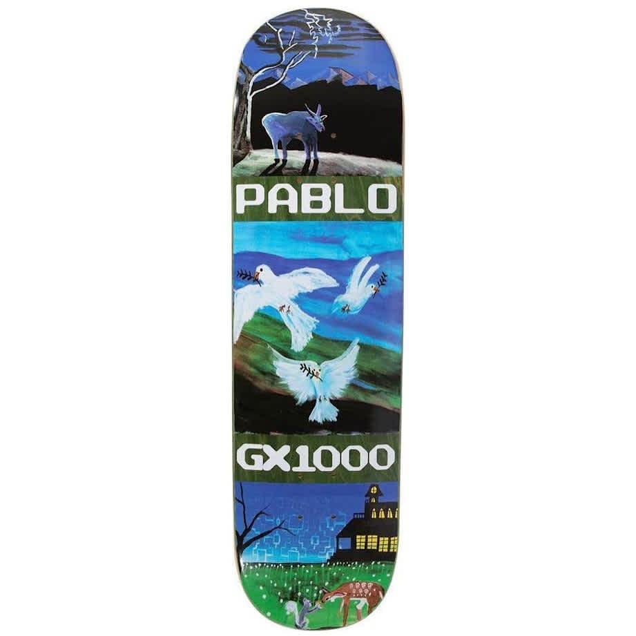 "GX1000 Pablo Ramirez Pro Skateboard Deck - 8.375"" | Deck by GX1000 1"