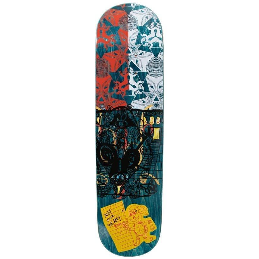 """GX1000 Jeff Carlyle Pro Debut Skateboard Deck - 8.25""""   Deck by GX1000 1"""