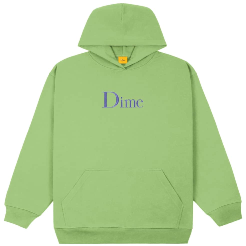 Dime Classic Embroidered Hoodie - Tea | Hoodie by Dime 1