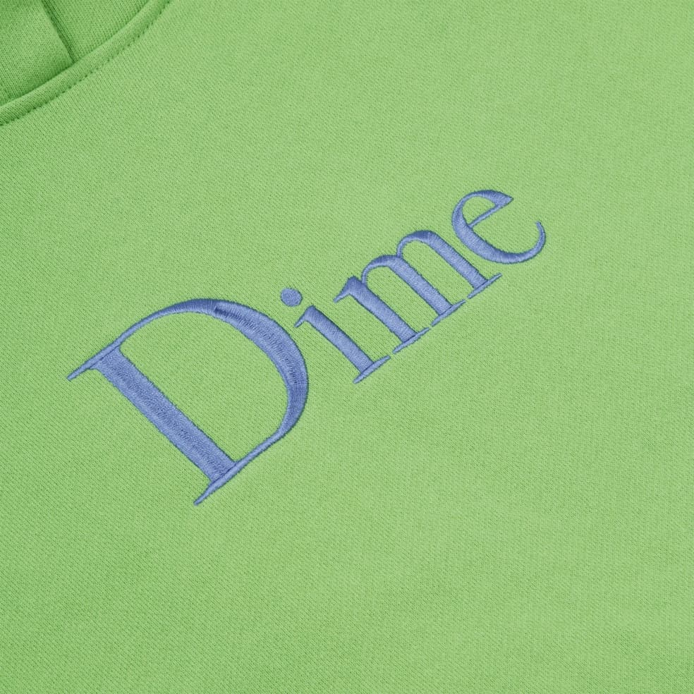 Dime Classic Embroidered Hoodie - Tea | Hoodie by Dime 2