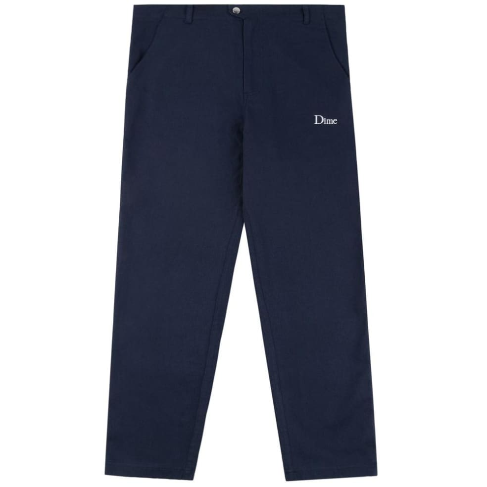 Dime Classic Chino Pants - Navy   Chinos by Dime 1