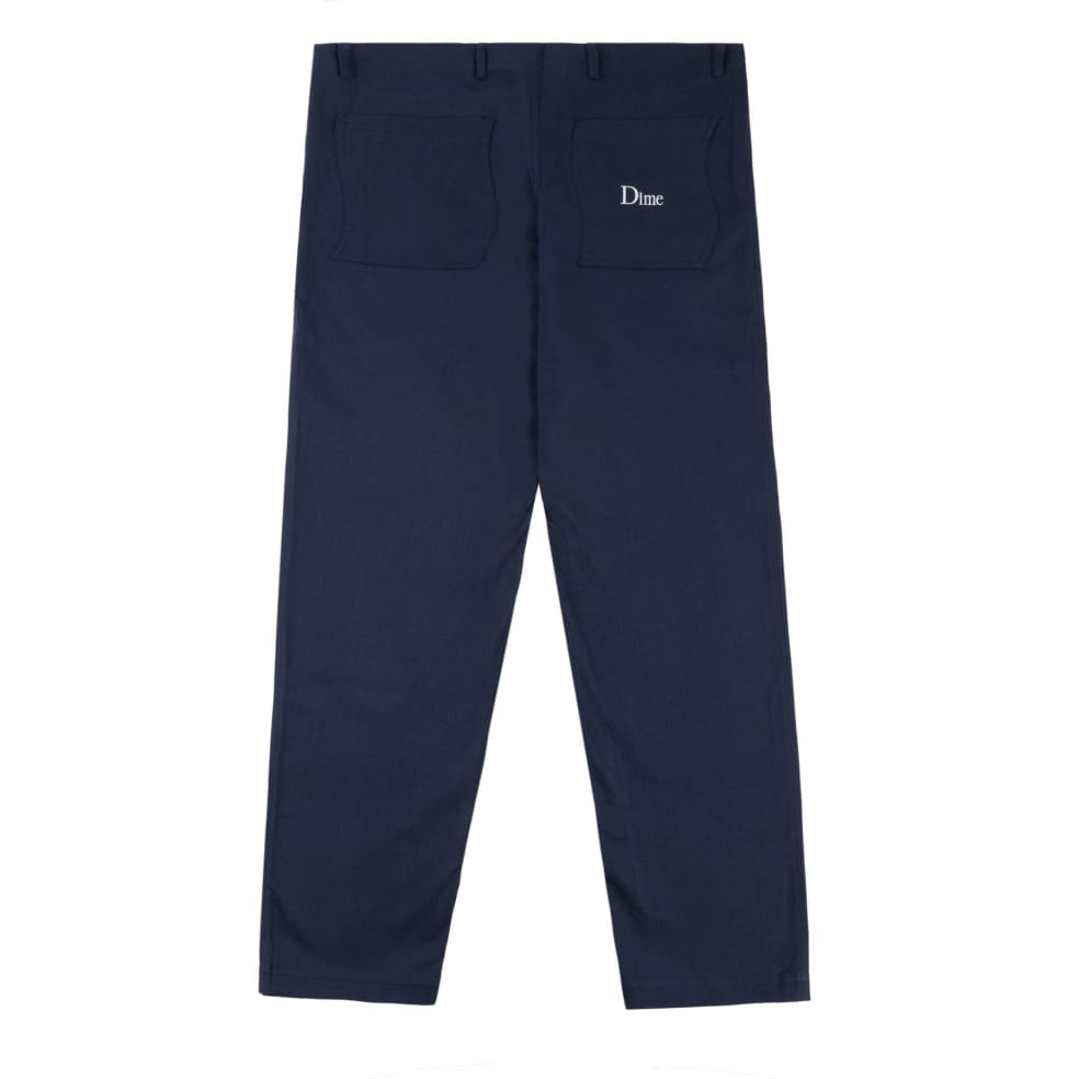 Dime Classic Chino Pants - Navy   Chinos by Dime 2